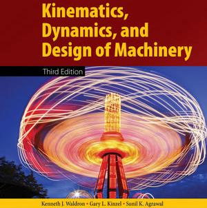Cover of Kinematics, Dynamics, and Design of Machinery textbook